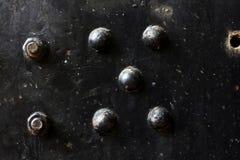 Vieux fer et peinture rouillés d'épluchage Photo stock