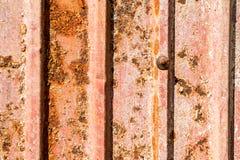 Vieux fer ondulé Photos libres de droits