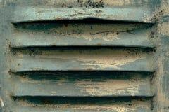 Vieux fer râpant pour la ventilation images stock