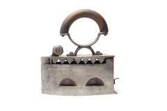 Vieux fer rouillé sur le blanc Photos libres de droits