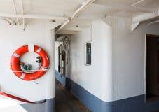 Vieux ferry d'Istanbul Image libre de droits