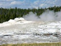 Vieux fidèle, stationnement national de Yellowstone Image libre de droits