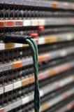 Vieux fil de téléphone Photographie stock libre de droits