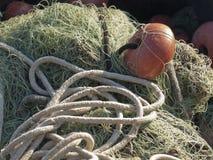 Vieux filet de pêche Images stock