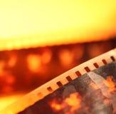 Vieux film de 35mm Photo stock