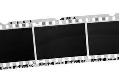 Vieux film photographique noir et blanc Images libres de droits