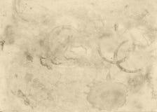 Vieux fond abstrait conceptuel souillé de texture de papier image stock