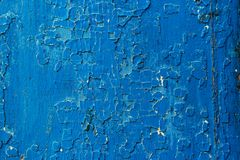 Vieux fond abstrait en bois bleu-foncé Images stock