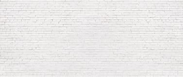 Vieux fond blanc de mur de briques, texture de vintage de brique l?g?re photo stock