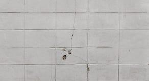 Vieux fond blanc de mur de tuile photo libre de droits