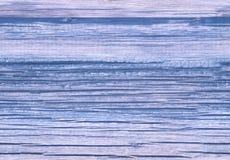 Vieux fond bleu bien aéré en bois de planches ou texture organique Modèle sans couture de texture de chêne Fin vers le haut Photo libre de droits