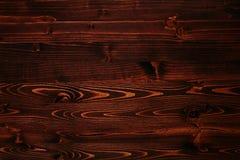 Vieux fond brun en bois Photographie stock libre de droits