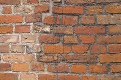 Vieux fond de briques Images libres de droits