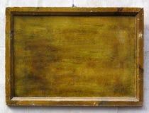 Vieux fond de cadre en bois Photographie stock libre de droits