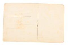Vieux fond de carte postale Photo libre de droits