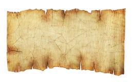Vieux fond de défilement de papier de cru Images stock