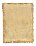 Vieux fond de feuille de papier de tissu de cru grunge Photos stock