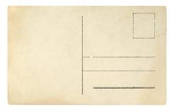 Vieux fond de grunge de carte postale images stock