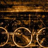 Vieux fond de machines Image stock