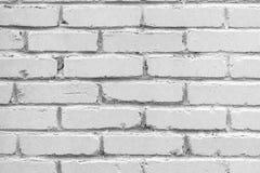 Vieux fond de mur de briques Texture grunge Surface légère photographie stock