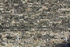 Vieux fond de mur de briques Photos libres de droits