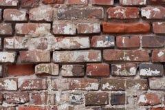 Vieux fond de mur de briques Images libres de droits