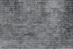 Vieux fond de mur de briques Texture grunge Papier peint noir foncé Images stock