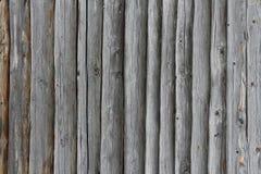 Vieux fond de mur de rondin Photo stock