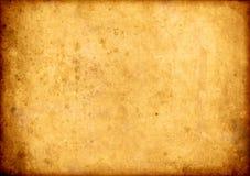 Vieux fond de papier de cru Photo libre de droits