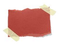 Vieux fond de papier de note de Brown Images libres de droits