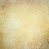 Vieux fond de papier en or fané de brun en métal et couleurs blanches avec la texture de vintage photo libre de droits