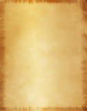 Vieux fond de papier parcheminé Photos libres de droits