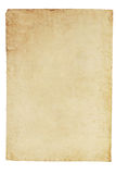 Vieux fond de papier parcheminé images libres de droits