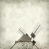 Vieux fond de papier texturisé Photos libres de droits