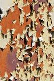 Vieux fond de peinture d'écaillement Image libre de droits