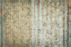 Vieux fond de texture de zinc, rouill? sur la surface m?tallique galvanis?e image stock