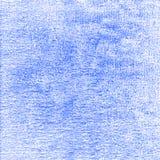 Vieux fond de toile de texture bleue Photographie stock