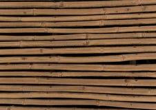 Vieux fond en bambou Images stock
