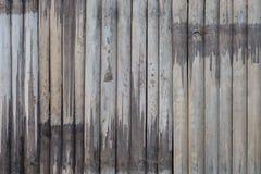 Vieux fond en bambou de texture Photos stock