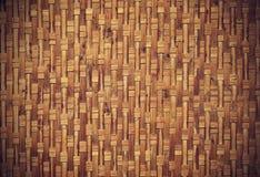 Vieux fond en bambou grunge de texture Image stock