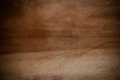 Vieux fond en bois affligé de grunge de planche de panneau Images libres de droits