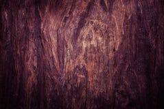 Vieux fond en bois affligé de grunge de planche de conseil Photographie stock