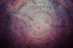Vieux fond en bois affligé de grunge de planche de conseil Photos stock