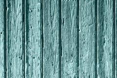 Vieux fond en bois bleu Photographie stock