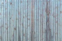 Vieux fond en bois bleu de rayures verticales photographie stock libre de droits