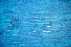 Vieux fond en bois bleu Milieux rustiques de vintage Images stock