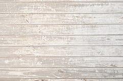 Vieux fond en bois clair affligé de texture Image libre de droits