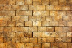 Vieux fond en bois de briques Image stock