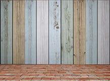 Vieux fond en bois de mur photo stock