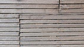 Vieux fond en bois de mur de lamelle Images libres de droits